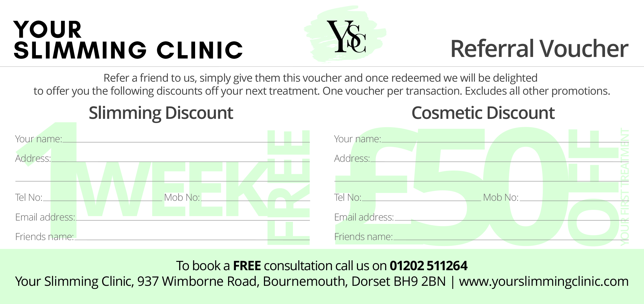 Your Slimming Clinic Bournemouth