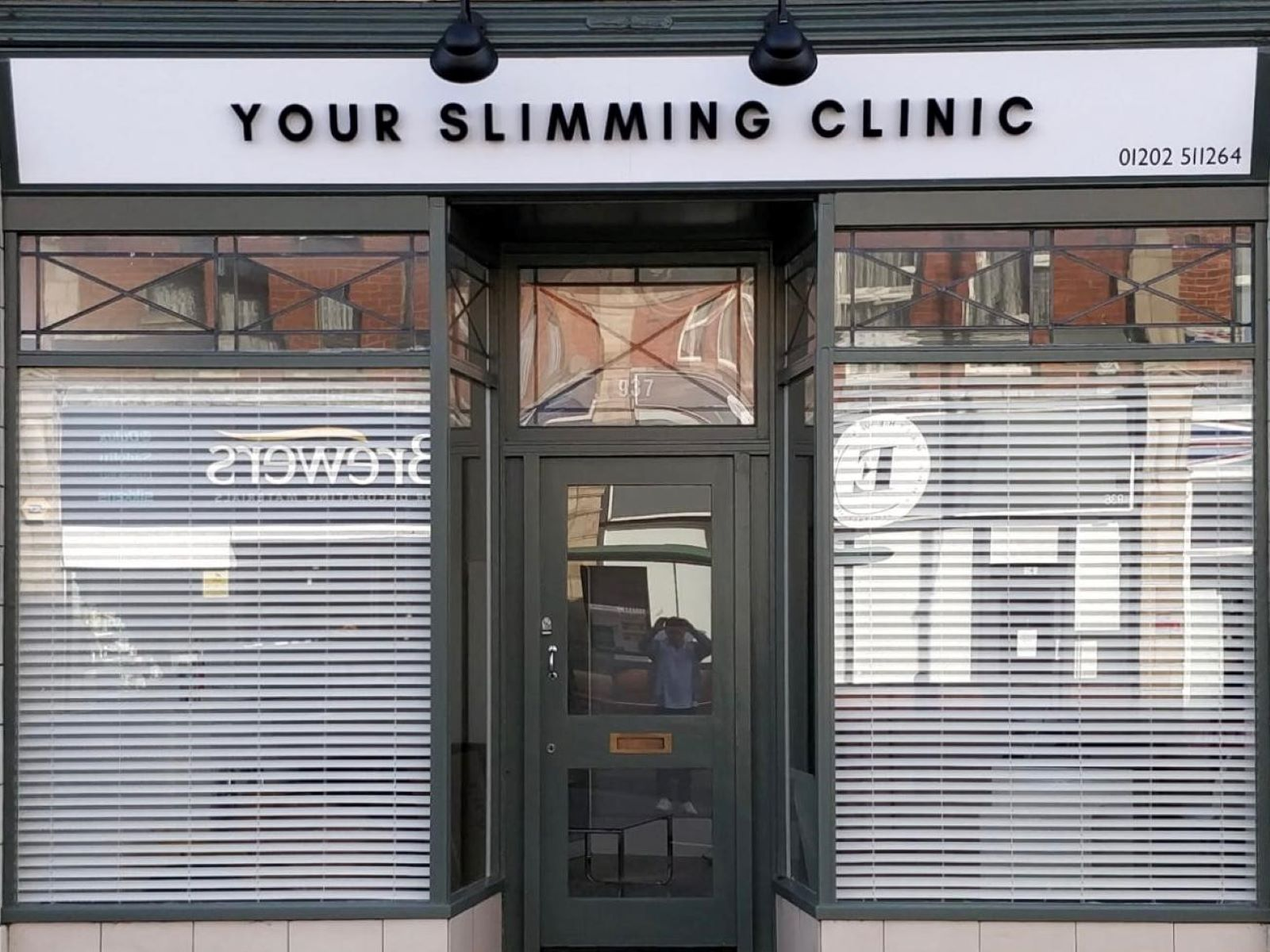 Your Slimming Clinic Front Entrance Bournemouth